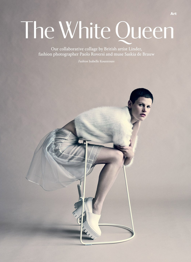 Wallpaper September Issue The White Queen Who Knows Fashion