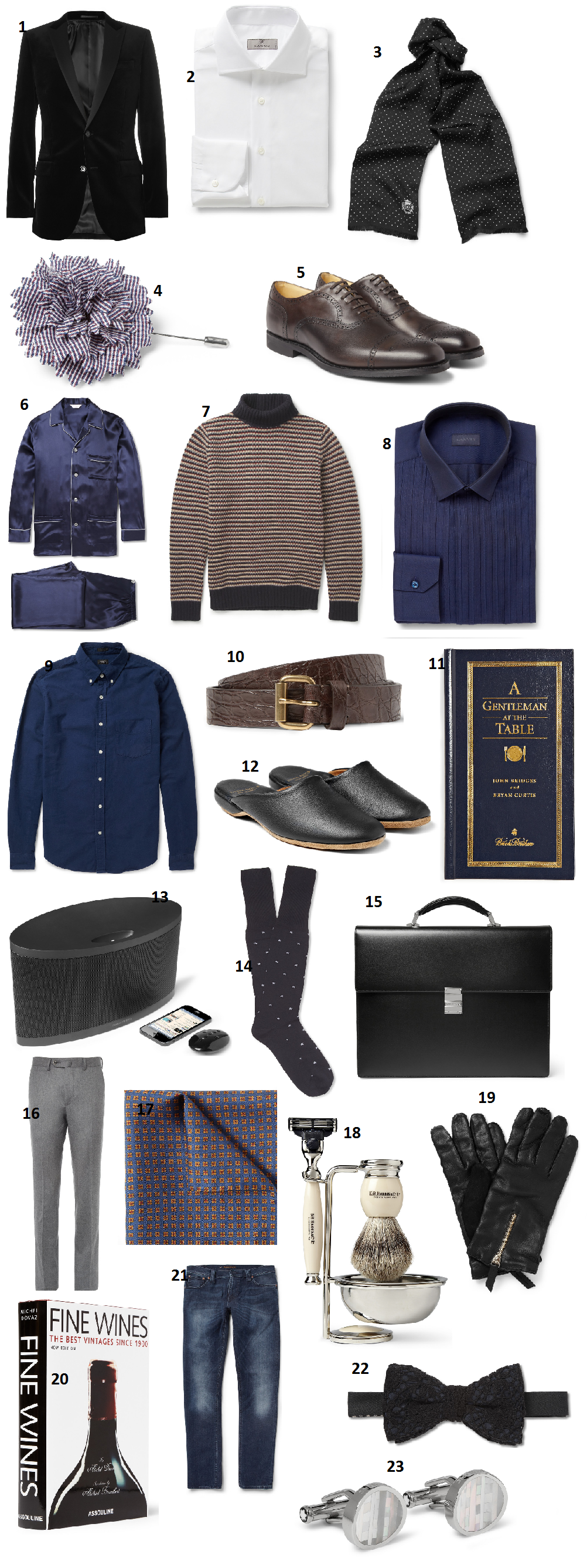 Mr. Big Holiday Gift Guide Men