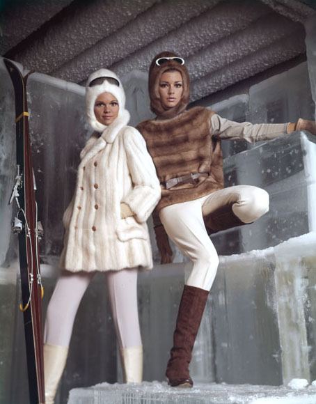 Fashion Trend Snow Chic Fashion A Look Back Who Knows