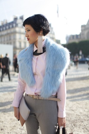 Paris Fashion Week-streetstyle-wwd