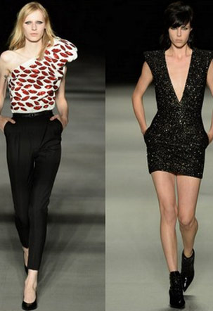 Spring/Summer 2014 - Saint Laurent