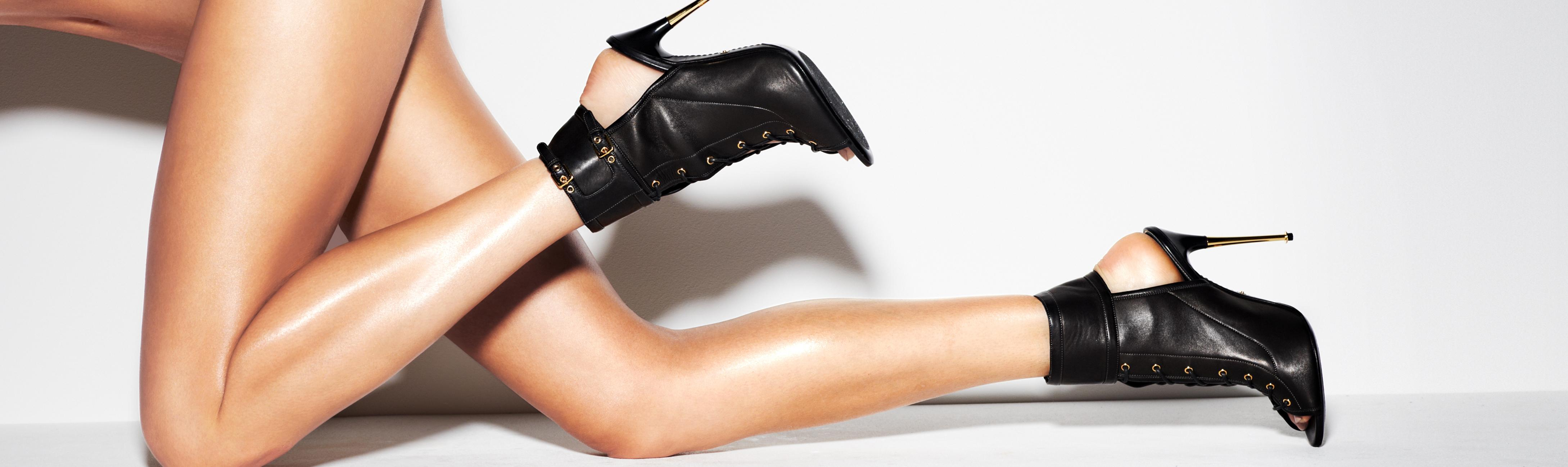gallery heels in lyst shoes product tom strap leather normal ankle pumps ford padlock black