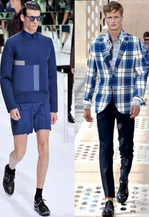 Spring/Summer 2014 Menswear Trends - The Blues