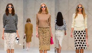 Outfit Inspiration - The Look of Burberry