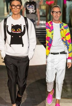Spring/Summer 2015 Menswear - Dsquared2