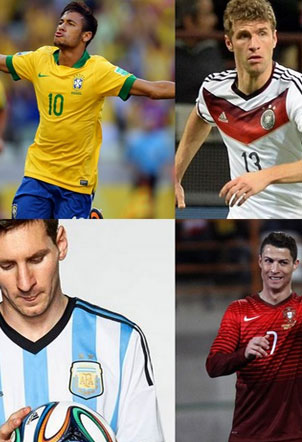 World Cup 2014 - Our Favourite Jerseys