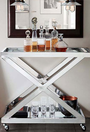 Your Guide to an At-Home Bar Cart