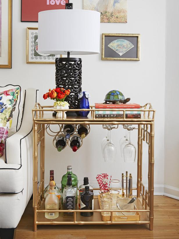 Your Guide To An At Home Bar Cart Who Knows Fashion