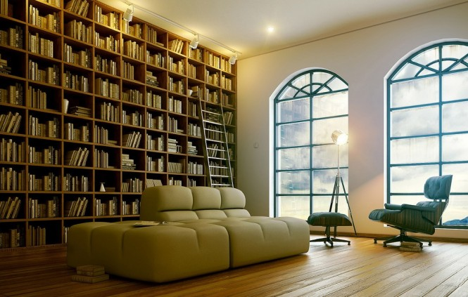 7-sophisticated-modern-home-library-665x423