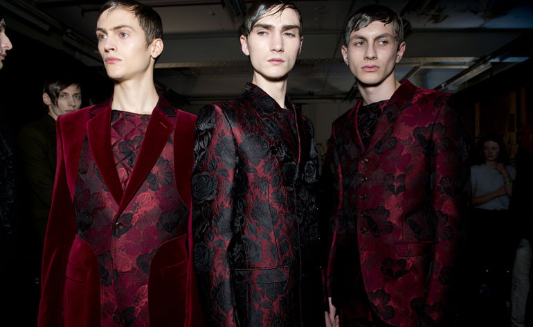 Fall/Winter 2015 Menswear - Alexander McQueen