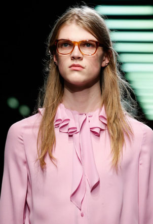 Fall/Winter 2015 - Gucci Declares Nerd is In
