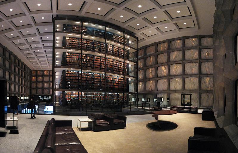 Beinecke Rare Book and Manuscript Library at Yale University – New Haven, Connecticut