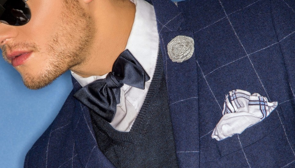 Fleur'd Pins Silver Burlap Fleur banner Orange Juice and Biscuits mens accessories lapel pin photo by Andrew Werner,