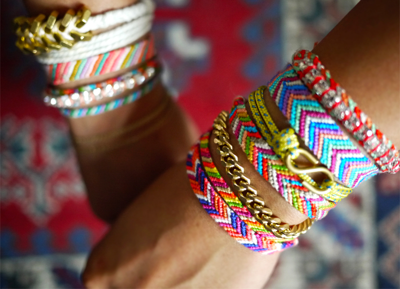 Braided String Bacelets