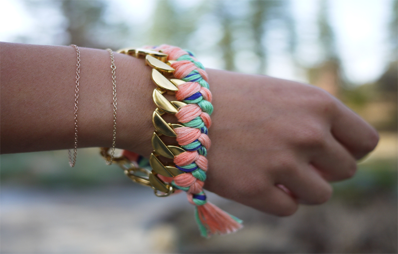 Braided String Bracelets2