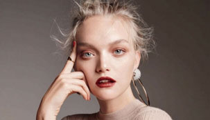 Gemma Ward With Chanel Makeup